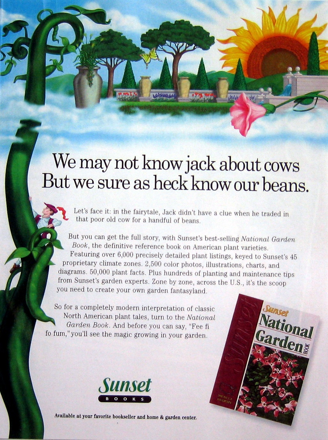 Client: Sunset Books Project: Ad For National Garden ...